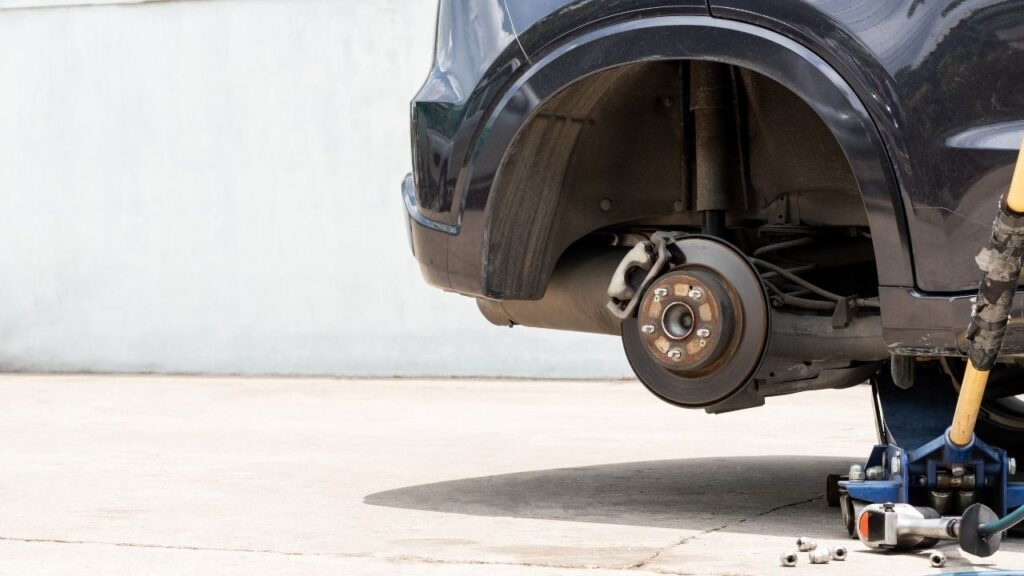Replace tyre