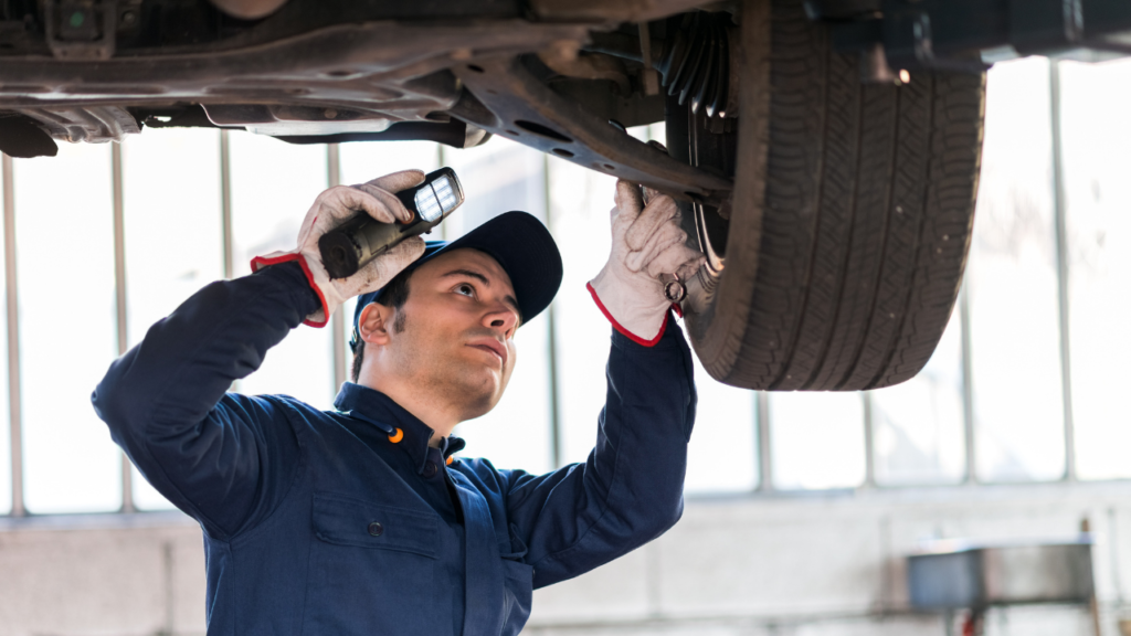 Inspect Tyre Condition