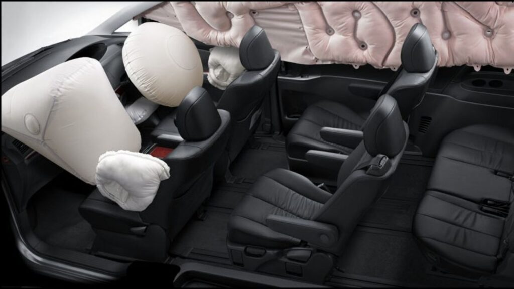Toyota Estima Safety and Comfort